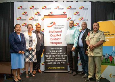 Photo of PNGAAA NCD Chapter launch