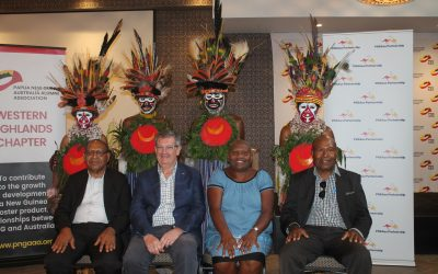 PNG Australia Alumni Association launches Western Highlands Provincial Chapter